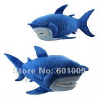 "Free Shipping Finding Nemo Brave Blue Shark Plush Stuffed Toy 12"" Wholesale and Retail"