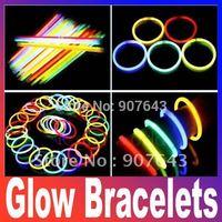 fluorescent bracelets flashing lighting wand novelty toy glow sticks for christmas celebration festivities ceremony item product