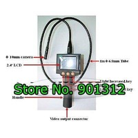 cheap shipping:Borescope Sewer Pipe Drain Seesnake Inspection Camera with 2.4 Inch monitor