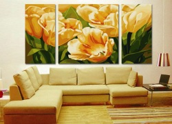 Hand-painted DIY digital canvas oil painting DIY Paint By Numbers Acrylic Drawing With Brush Paints 60 x120cm wholesale(China (Mainland))