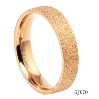 Min order 10$ (mix order) Jewellery Finger Rings steel rose gold female ornaments women's ring gj070 FREE SHIPPING