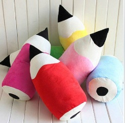Lovely pencil shape cushion,creative pillow,nice gift for Wedding many colors Free shipping(China (Mainland))