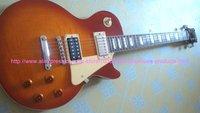 ebony fretboard Brand new GorE jimmy page cherry sunburst electric guitar free shipping chorme hardware guitars