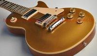 ebony fretboard Brand new GorE golden top electric guitar free shipping goldtop chorme hardware guitars