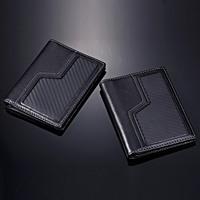 Car drivers license bag driving card holders car wrap documents bag cowhide carbon fiber