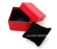 2140# paper Watch Box with Pillow 10pcs,5 colors Paper Gift Boxes ,Case For Bangle Jewelry