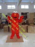 Long Fur Elmo Mascot Costume Character Costume Cartoon Costume Free Shipping Z-94