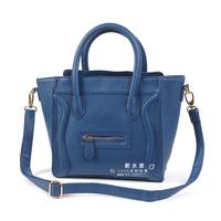 Bag female bags messenger bag women bag smiley bag Small Medium navy blue