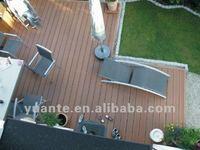 Water proof eco-friendly wood plastic composite deck / wpc  floor