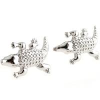 Fashion cufflinks gustless small LACOSTE casual series male cufflinks nail sleeve 161198 novelty cuff links