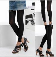 Ultra-thin all-match velvet legging thin spring body shaping ankle length trousers