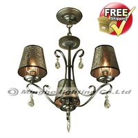 Free Shipping Crystal Chandelier with 3 Lights for Living Room, Bedroom, Dining Room in Crystal, Modern/Comtemporary style