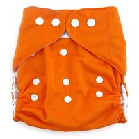 New One Size Baby Cloth Interlayer Pocket Diapers Nappy