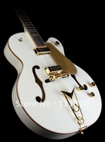 factory Promotions Musical Instruments G6136DS White Falcon Hollow Body Electric Ebo Electric Guitar