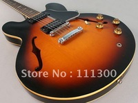 Guitar ES335 6 String Sunburst Vintage Gorgeous Guitar