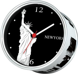 2012 cheap new york wall clocks in unique gifts clocks wall for kids,Free shipping with 4pcs one pack(China (Mainland))