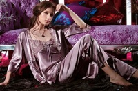 Sexy Pajamas Women's Sleeping clothes New design night dress Shower robe Free shipping