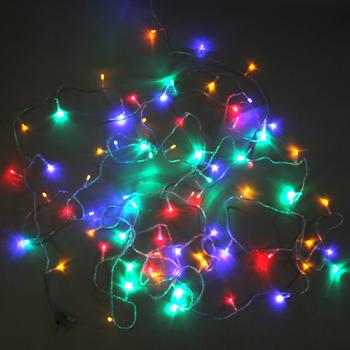 Flash led small in lantern flasher led string light decoration lantern neon lamp 10 meters