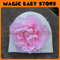 retail  hat with big flower Hat Flower Hat Baby/Kids Hat 1size baby wear
