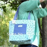 Free Shipping 2pcs/lot lifestyle floral printing shoulder bag, made with high quality canvas, 4 colors available