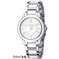 Eyki archer steel Women watch ceramic full white