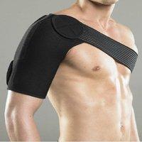 Adjustable Single Shoulder Support Brace Posture Gym Sport Injury Guard Back Pad