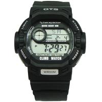Ots multifunctional student watch led fashion sports watch waterproof male watches hiking table