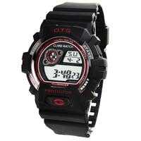 Ots black big dial male watch waterproof sports watch electronic watch fashion table