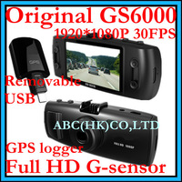 Автомобильный видеорегистратор Mini DVR New Model 2.0 inch TFT Screen Car DVR Camera With Dual Camera and Support Dual Memory Card f6000