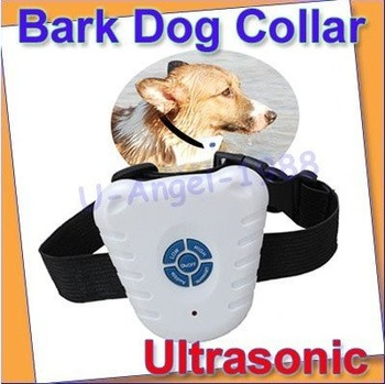 Free shipping Ultrasonic Bark Stop Dog Training Collar barking pet--AC502