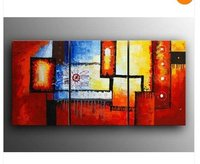 ORIGINAL ART OIL PAINTINGS-HUGE CONTEMPORARY MODERN ABSTRACT ART GALLERY(China (Mainland))