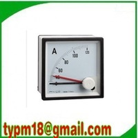Free shipping!(6pcs) AC Analog Ampere Meter Current Amp Ammeter 96*96mm Panel meter