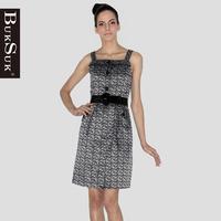 Free shipping Women's 2012 autumn print fashion pullover suspender skirt one-piece dress 9930