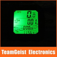 Waterproof Bike 24 functions Computer Odometer Speedometer Speed Counter/Meter LCD Display Cycling Bicycle & Free Shipping