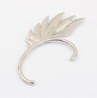 Min order 15 US Dollar Fashion Punk Ear Cuff Earrings jewelry SJA135 silver