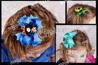 """4.5"""" Baby hair bows hair clip set Girls' Hair Accessories Baby hair clips grosgrain ribbon bows 80pcs/lot A377"""