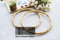 Bamboo circular handles