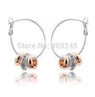 Серьги-гвоздики white pearl crystal stud earings white gold, fashion pearl jewelry