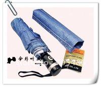 Factory Wholesale+DHL Free Shipping Single-fold automatic umbrella to increase the umbrella super-UV umbrella classic cowboy