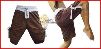 Free Shipping Muay Boran Muay Thai Boxing Shorts Trunks Size S-XXL (U014) !!