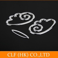 wholesale 10pcs/lot Funny Angel wings 3D car stickers/car 3D emblems alloy badge ,New Universal Car Auto Adhesive ,free shipping