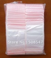 1000PC Ziplock bag 1.57x2.36 inch (4X6CM) Reclosable Clear Plastic Bags opp  seal bag