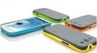 4pcs/lot Hybrid TPU PC Bumper Case Full Cover Skin SAMSUNG GALAXY S III 3 S3 i9300 Free Shipping