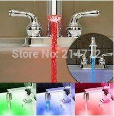 Температурный датчик кран светодиодные Свет Вода 3 Цвет Изменение / iindoor мебель