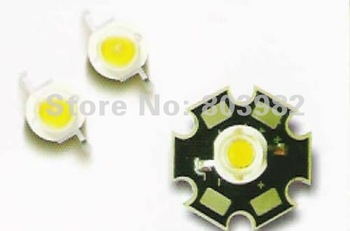 High brightness 3watt leds white color 160-170LM with batwing heatsink 50PCS wholesale(CE&Rosh)