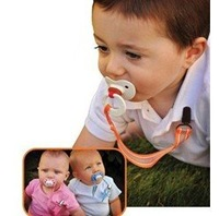 Soother Chain Holders Drop-Resistant Belt Baby with Pacifier Clip Chain
