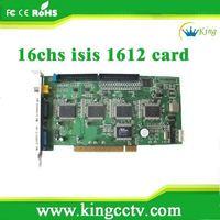 16chs dvr card Any keeper DVR Card H.264 security dvr card ISIS-1612