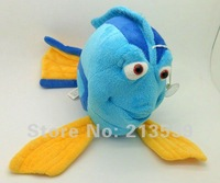 "Free Shipping Plush Clownfish Finding Nemo Blue Clown Fish Stuffed Animal 10"" Retail"