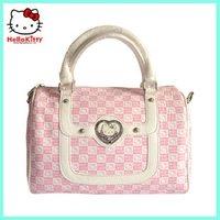 free shipping 2012  hot selling women's hello kitty PU handbags fashion handbags  08