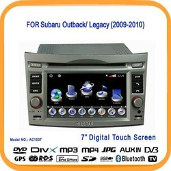 Car Radio GPS For Subaru Outback DVD Player With 3G USB Host Bluetooth TV Picture in Picture(AC1037)(China (Mainland))